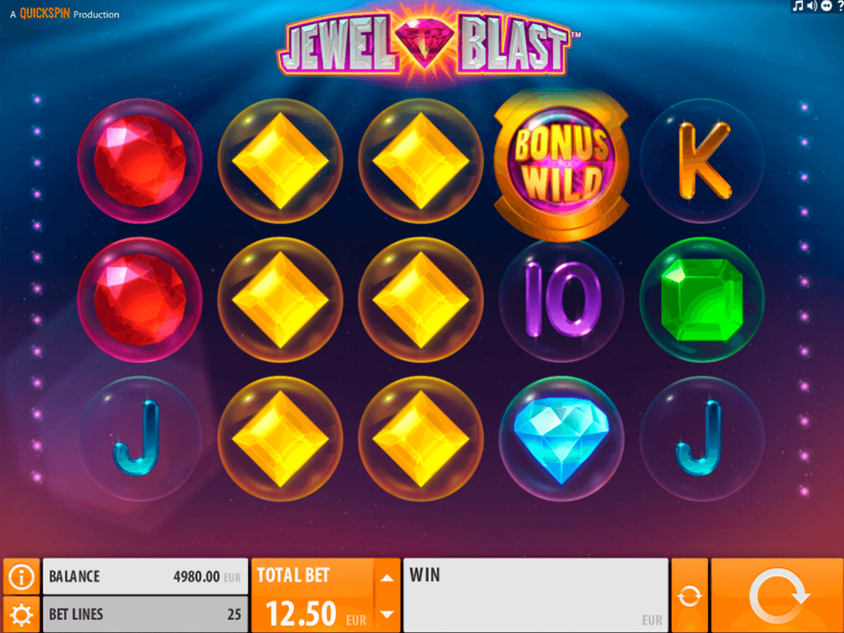 jewel blast quickspin casino slot spel