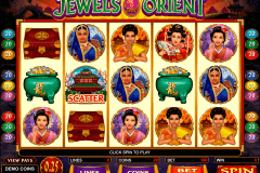 jewels of the orient microgaming casino slot spel
