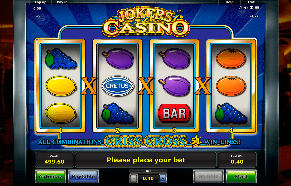 jokers casino novomatic casino slot spel