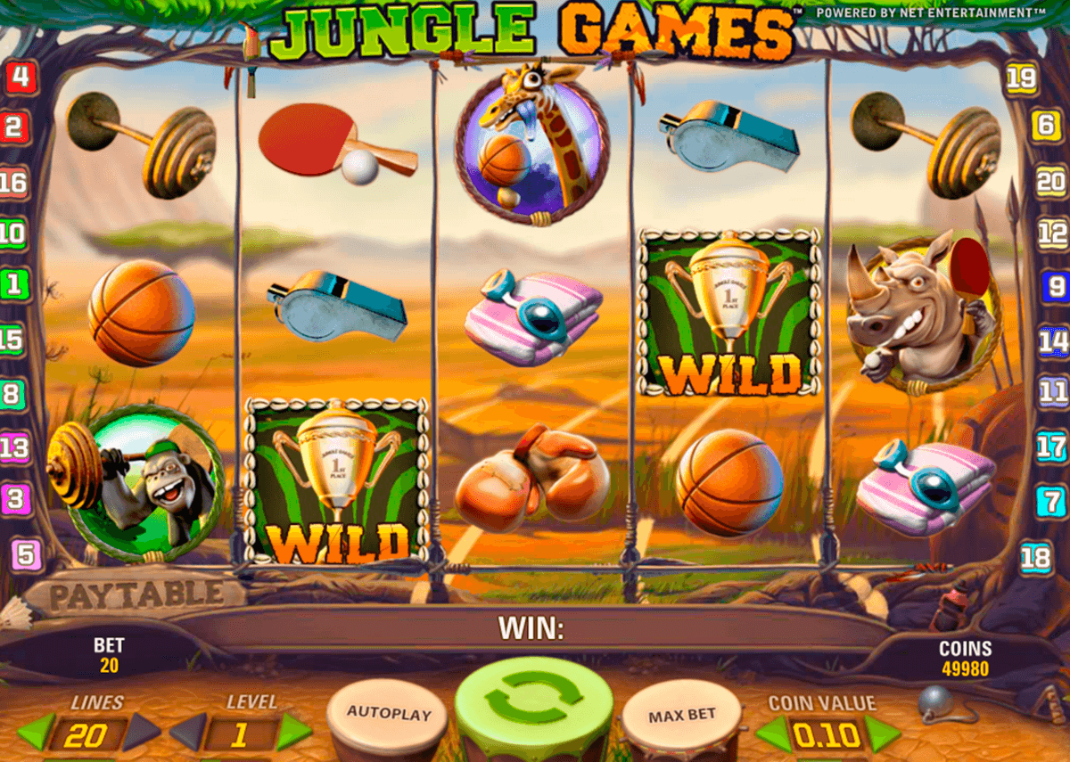jungle games netent casino slot spel