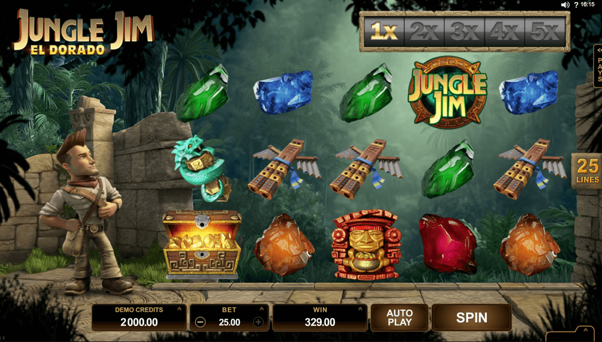 jungle jim el dorado microgaming casino slot spel
