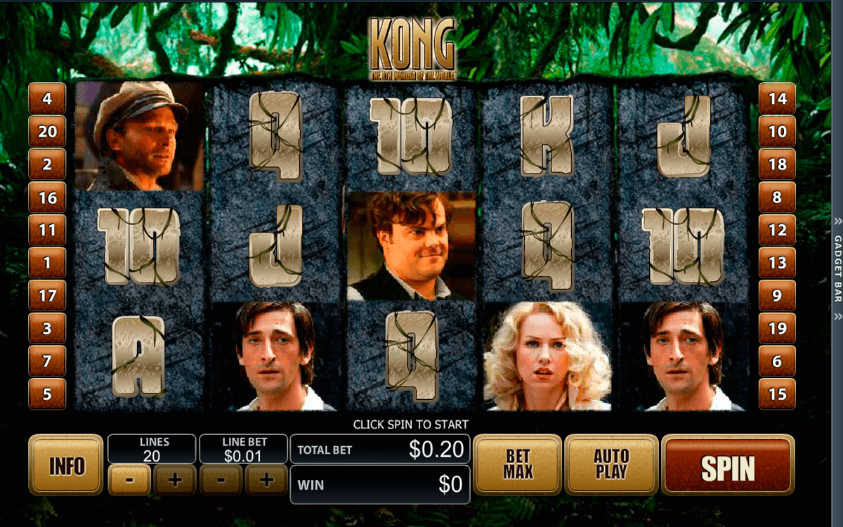 king kong playtech casino slot spel