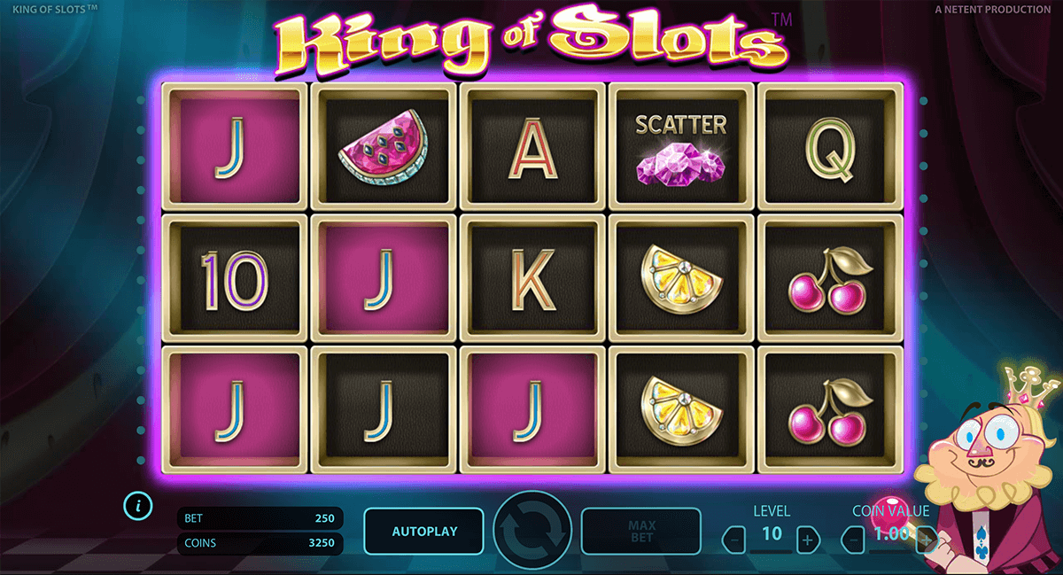 king of slots netent casino slot spel