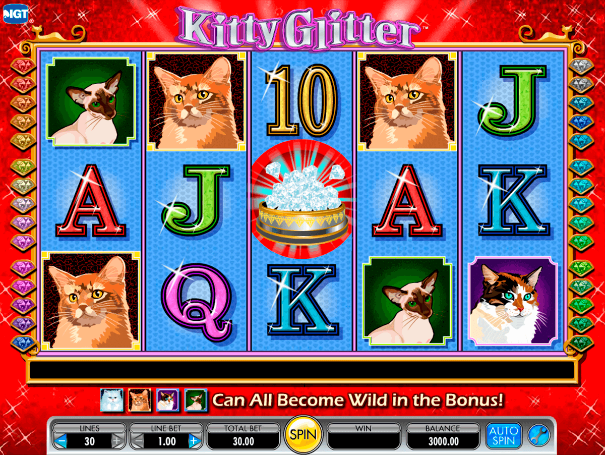 kitty glitter igt casino slot spel