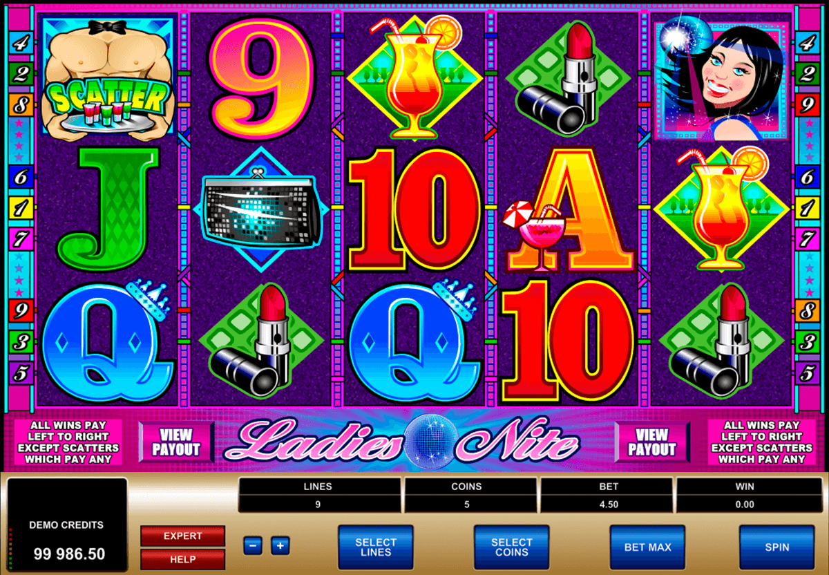 ladies nite microgaming casino slot spel