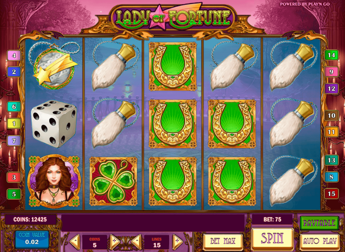 lady of fortune playn go casino slot spel