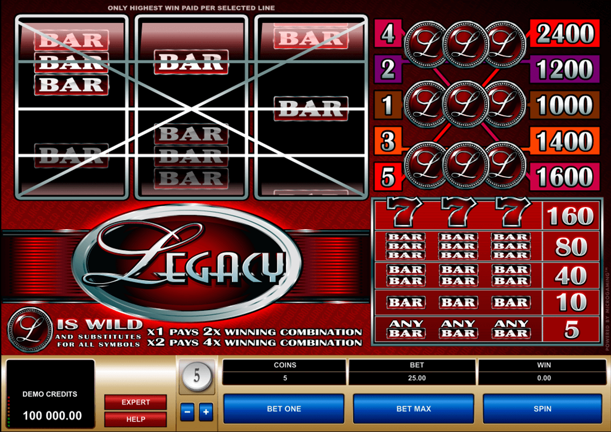 legacy microgaming casino slot spel