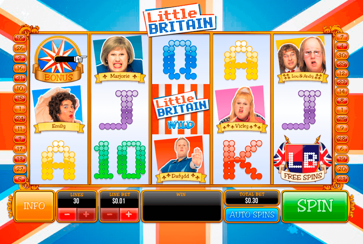 little britain playtech casino slot spel