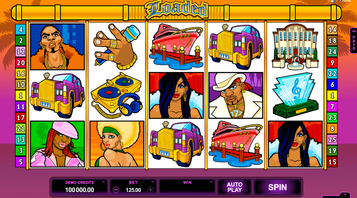 loaded microgaming casino slot spel