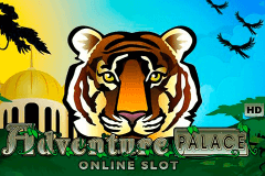 logo adventure palace microgaming spelauatomat