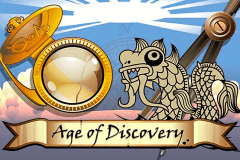 logo age of discovery microgaming spelauatomat