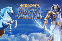 logo age of the gods king of olympus playtech spelauatomat