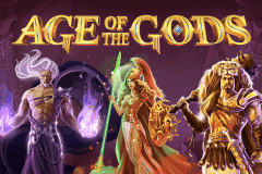 logo age of the gods playtech spelauatomat
