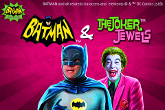 logo batman the joker jewels playtech spelauatomat