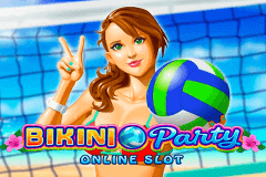 logo bikini party microgaming spelauatomat