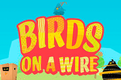 logo birds on a wire thunderkick spelauatomat