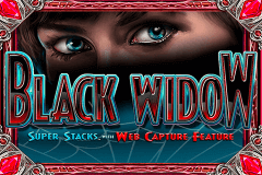 logo black widow igt spelauatomat