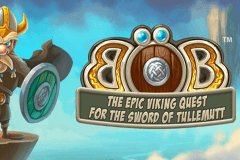logo bob the epic viking quest netent spelauatomat