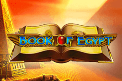 logo book of egypt deluxe novomatic spelauatomat