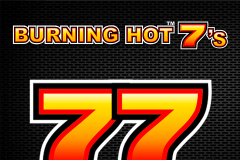 logo burning hot sevens novomatic spelauatomat