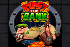 logo bust the bank microgaming spelauatomat