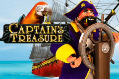 logo captains treasure playtech spelauatomat