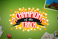 logo champion of the track netent spelauatomat