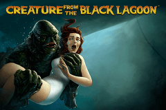 logo creature from the black lagoon netent spelauatomat