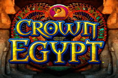 logo crown of egypt igt spelauatomat