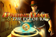 logo daring dave the eye of ra playtech spelauatomat