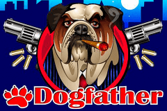 logo dogfather microgaming spelauatomat