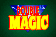logo double magic microgaming spelauatomat