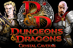 logo dungeons and dragons crystal caverns igt spelauatomat