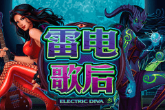 logo electric diva microgaming spelauatomat