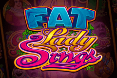 logo fat lady sings microgaming spelauatomat