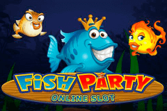 logo fish party microgaming spelauatomat