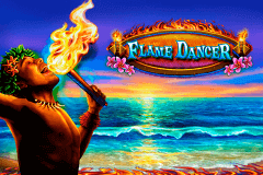 logo flame dancer novomatic spelauatomat
