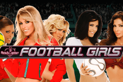logo football girls playtech spelauatomat