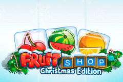 logo fruit shop christmas edition netent spelauatomat