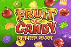 logo fruit vs candy microgaming spelauatomat