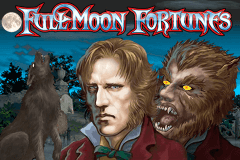 logo full moon fortunes playtech spelauatomat