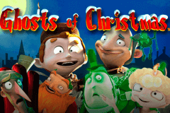 logo ghosts of christmas playtech spelauatomat