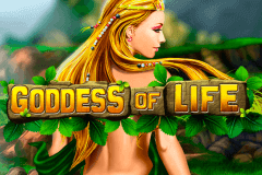 logo goddess of life playtech spelauatomat