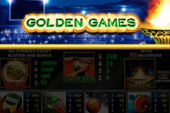 logo golden games playtech spelauatomat