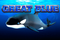 logo great blue playtech spelauatomat