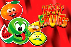 logo happy fruits novomatic spelauatomat