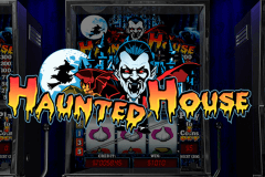 logo haunted house playtech spelauatomat