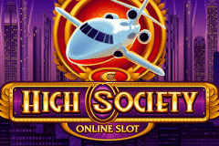 logo high society microgaming spelauatomat