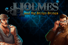 logo holmes and the stolen stones spelauatomat
