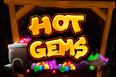 logo hot gems playtech spelauatomat
